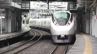 E657系K18編成 特急ときわ62号、ひたち野うしく駅を通過