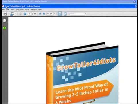 grow taller 4 idiots pdf