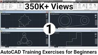 AutoCAD Training Exercises for Beginners - 1