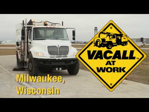 Vacall AllSweep AllCatch General Mitchell International Airport, Milwaukee WI