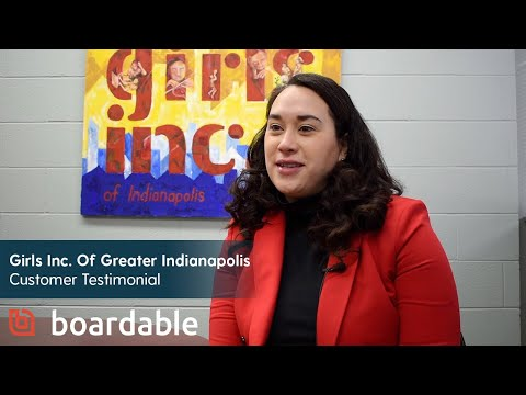 Boardable Testimonial - Elyssa Campodonico-Barr, CEO of Girls Inc of Greater Indianapolis