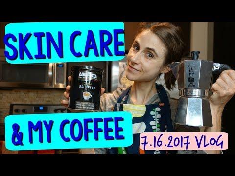 Vlog: How I make my coffee, cacao oats, & ASIAN SKIN CARE ☕🌱🐌