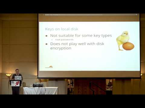SREcon17 Asia/Australia: Managing Server Secrets at Scale with a Vaultless Password Manager