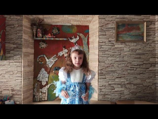 Изображение предпросмотра прочтения – ЗлатаКостырина читает произведение «Берёза» С.А.Есенина