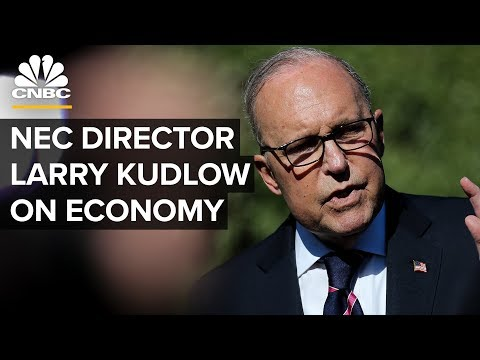 WATCH LIVE: National Economic Council Director Larry Kudlow on economy—April 23, 2019