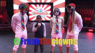 Fresh the Clowns at Universoul Circus #FunSponge [MyNEWPhilly]
