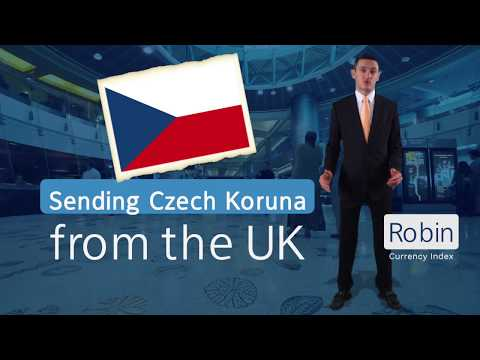 Send Money to Czech Republic | Currency Index