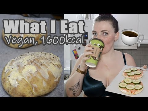 What A Vegan Eats @ 1600 kcal for Weight Loss