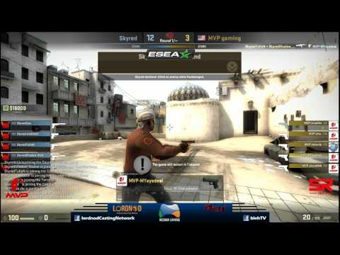 ESEA Asia Pacific Open Grand Final - Skyred vs MVP Gaming - Map 1