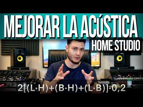 Como mejorar la acústica del Home Studio