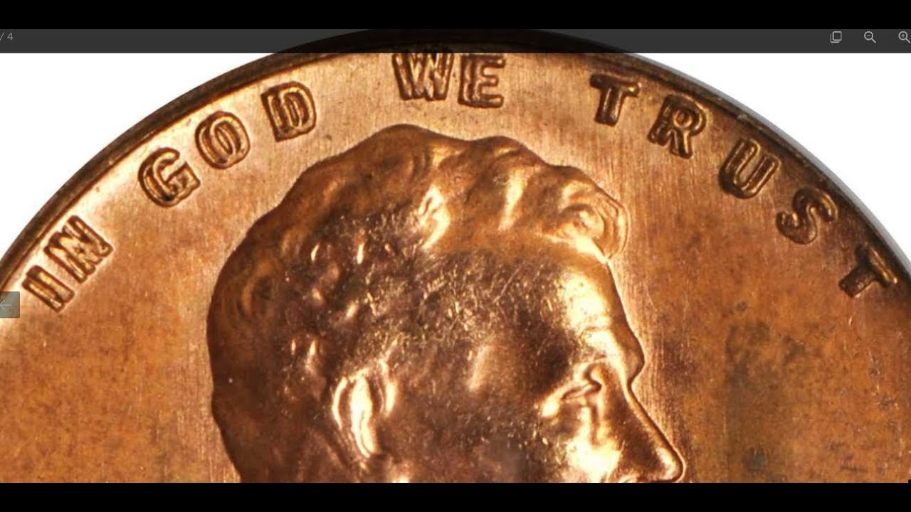 Super rare doubled die in auction right now! 1958 ddo Stacks Bowers  Galleries
