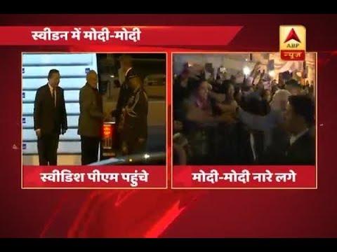 People went gaga over PM Modi's visit to Sweden, chanted 'Modi Modi'