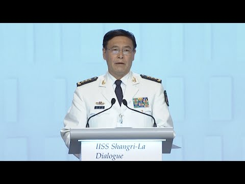 Chinese Admiral Advocates New-type Security Concept at Shangri-La Dialog