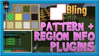 [BlingEdit Minecraft] Patterns + Region Info Plugins (And Forester Update)