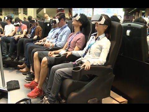 Virtual Reality Technology Grabs Spotlight at Europe's Biggest Video Game Trade Fair