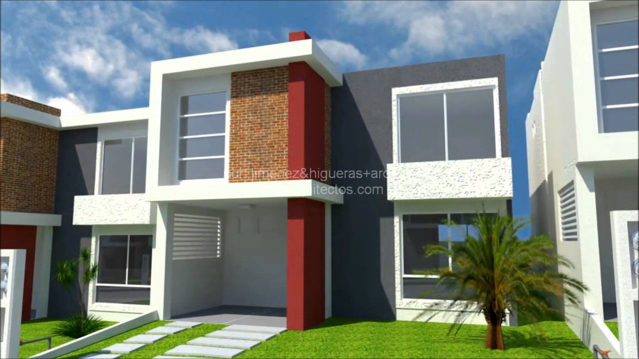 Modelo 3d flamingo casas carpin por jimenez higueras for Modelos de casas minimalistas pequenas