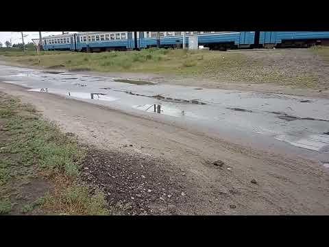 Электричка Лиман-Харьков.Зеленый Клин