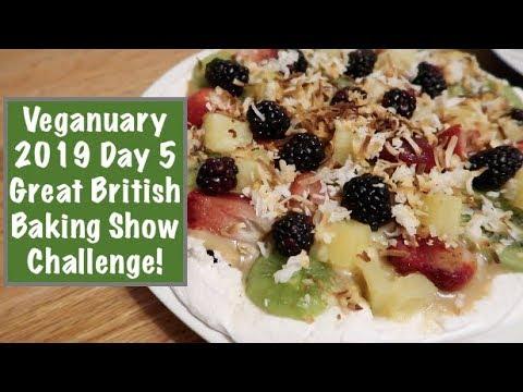 Veganuary 2019 Day 5 - Great British Baking Show Challenge!