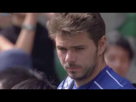 2015 ATP Tokyo Final Highlights - Stan Wawrinka v Benoit Paire