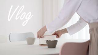 ENG) 살림로그, 브이로그 vlog / 냄비구입, 봄…