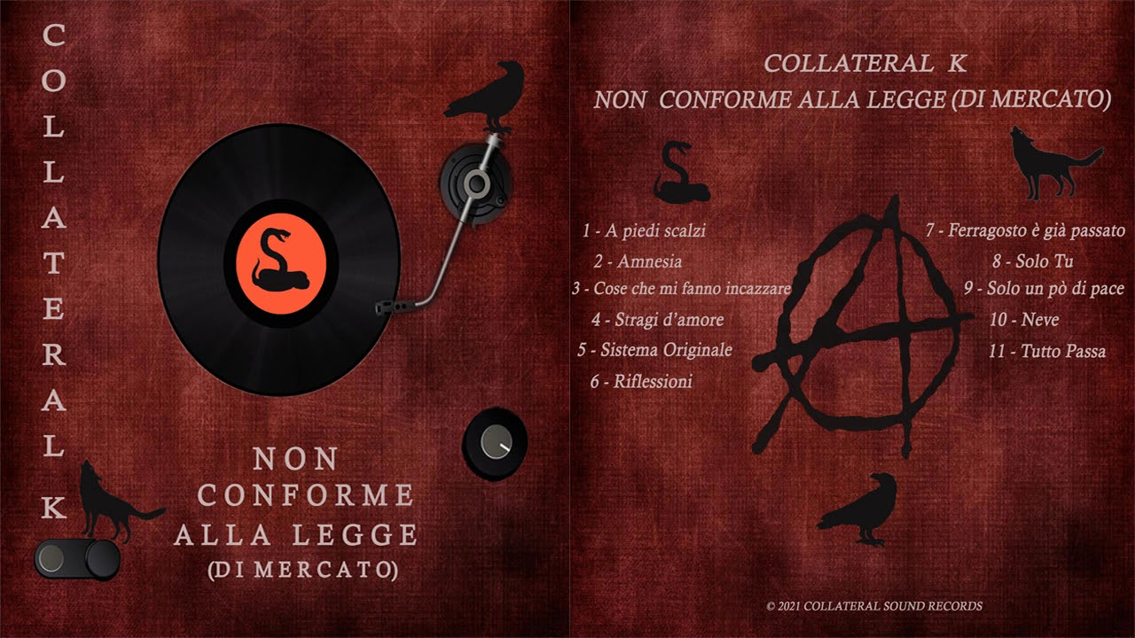 La band Collateral K rilascia un album anarchico