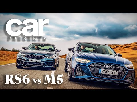 New Audi RS6 vs BMW M5: video exclusive
