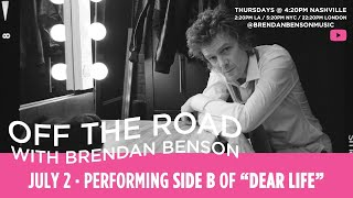 Brendan Benson Performs Side B of Dear Life