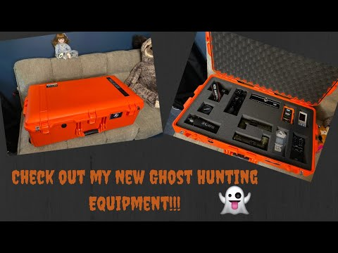 Check Out My New Ghost Hunting Equipment!