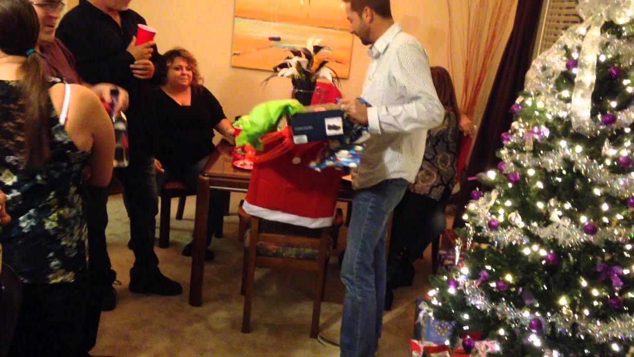 Adult Christmas Party 2013 Gift Exchange - YouTube