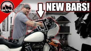 Bagger Build Series - 2018 Road Glide Handlebars and Floorboards