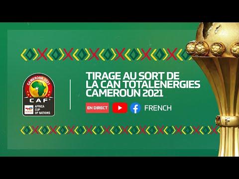 Tirage au sort de la CAN TotalEnergies Cameroun 2021