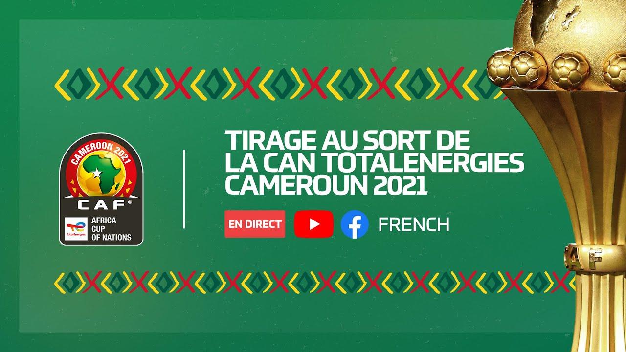 Download Tirage au sort de la CAN TotalEnergies Cameroun 2021