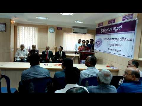 Karnataka bank kumaraswamy layout branch opening function