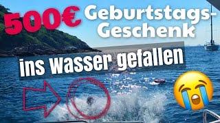500 € teures Geburtstagsgeschenk fällt ins Meer 😱😭  | BibisBeautyPalace