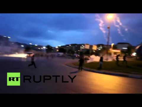 Turkey: Protesters clash with police after Ankara blasts