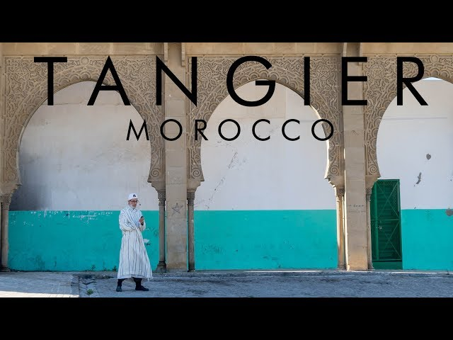 One day in Tangier, Morocco