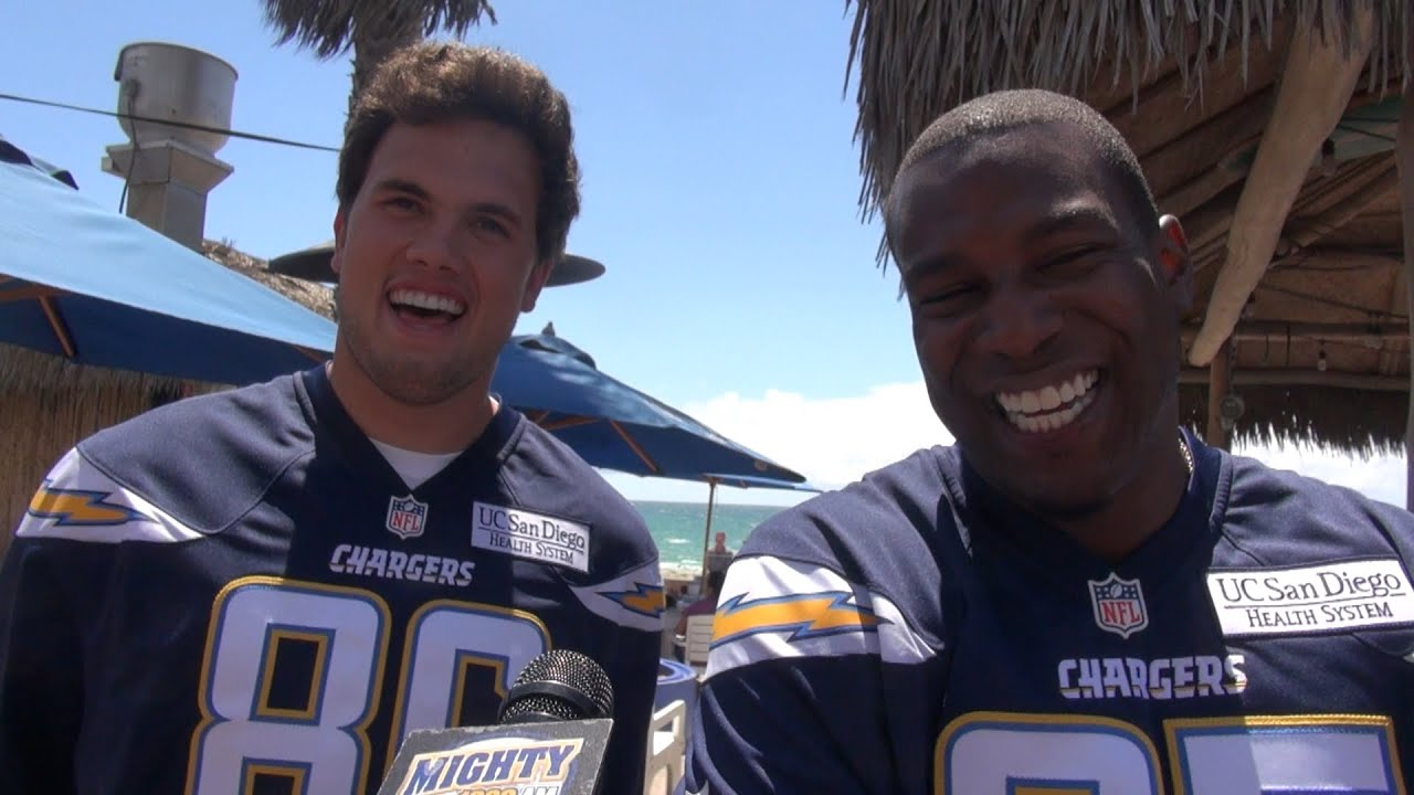 Antonio Gates & Hunter Henry on mtg each other Rivers & SD Super