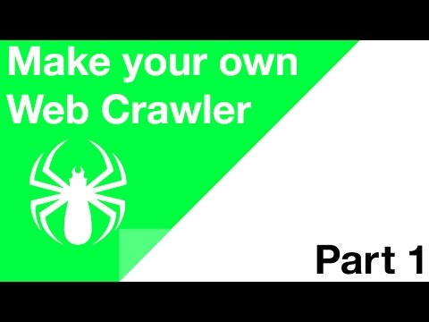 Make your Own Web Crawler - Part 1 - The Basics