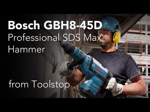 Видео обзор: Перфоратор SDS-max BOSCH GBH 8-45 D