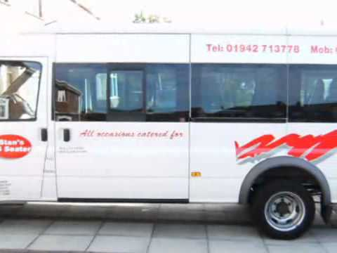 Mini Bus Hire - Stan's 12 & 16 Seater Mini Buses