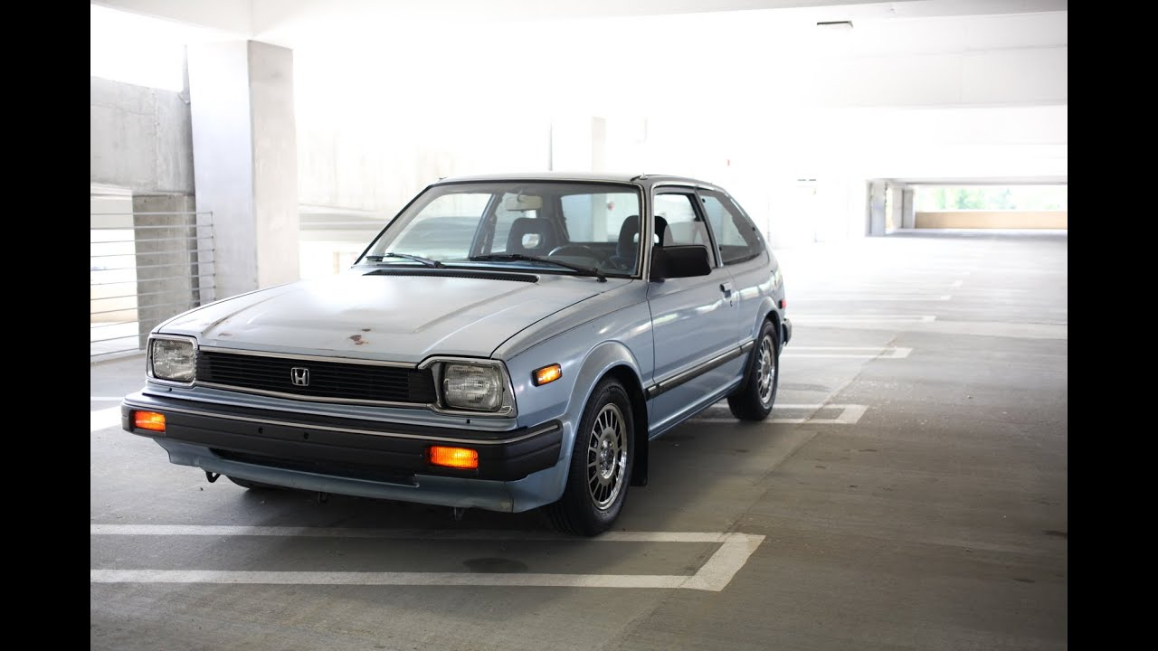 1983 Honda Civic Walkaround - YouTube