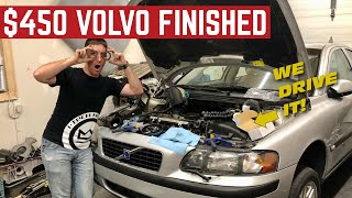 The $450 Volvo S60 Flip Is FINISHED *Cam Seal REPLACEMENT*