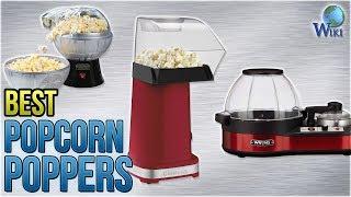 10 Best Popcorn Poppers 2018