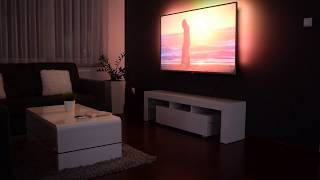 Philips 65PUS6412 Stop Motion UNBOXING AndroidTV