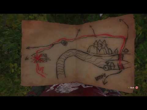 Kingdom Come Deliverance Ancient Map 4 Treasure Location
