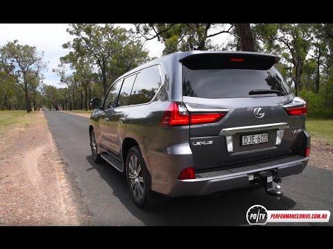 2017 Lexus LX570 0-100km/h & Engine Sound