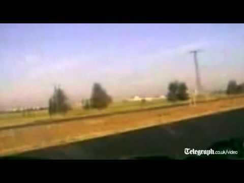 Syrian tank convoy heads to Deraa