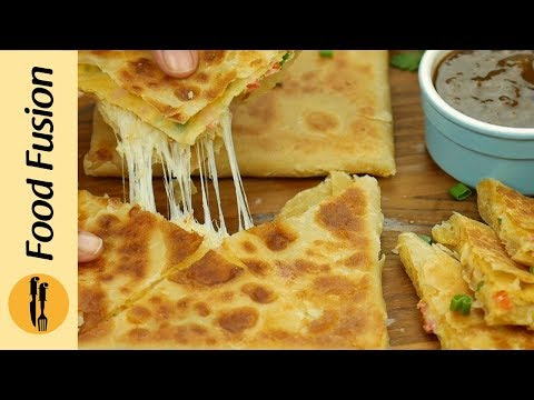 Lifafa(Envelop) Egg Paratha Recipe By Food Fusion