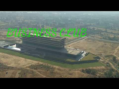 Gift city Gandhinagar Gujarat,top view with project name mention