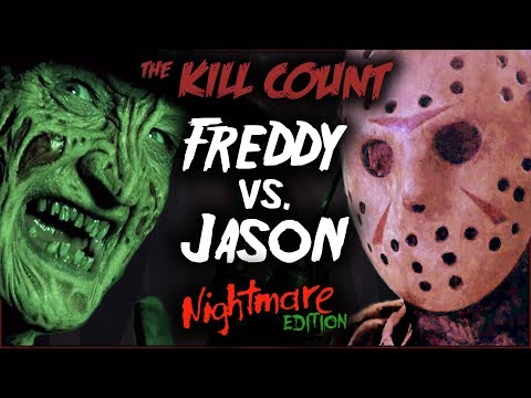 Freddy vs. Jason (2003) KILL COUNT [Special NIGHTMARE Edition]